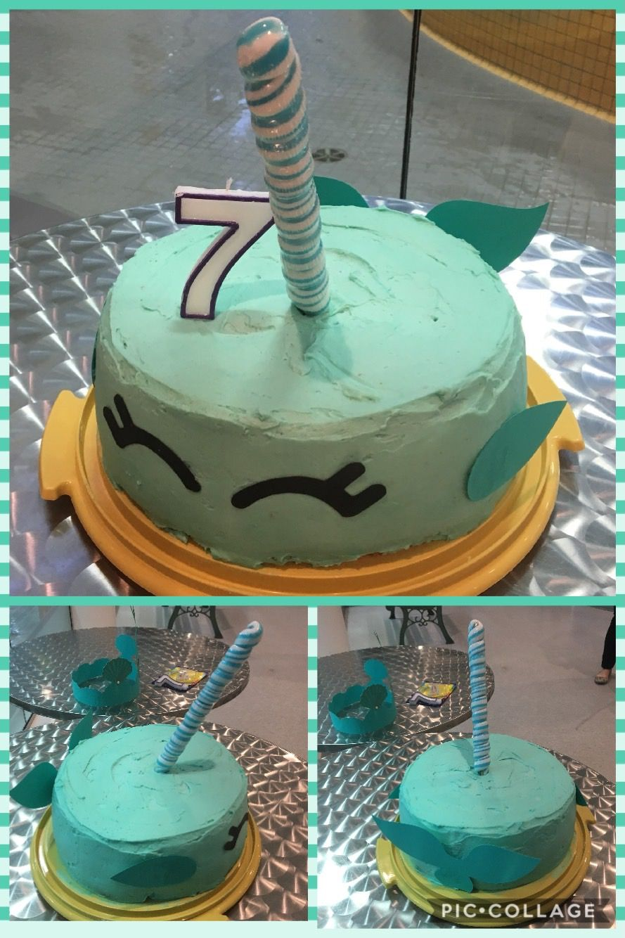 Coolest Narwhal Birthday Cake Narwhal Party Birthday Cake