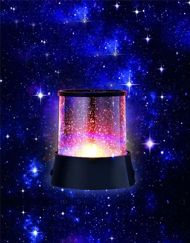 Robot Check Lighting Pattern Starry Night Light Star Projector Light