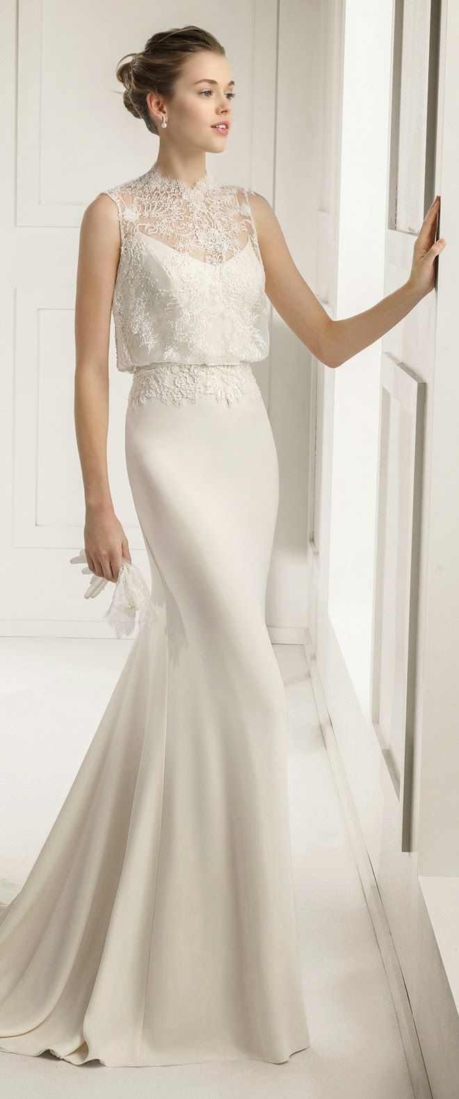 After wedding dress reception  Rosa Clara  Bridal Collection  Part   Discover more ideas