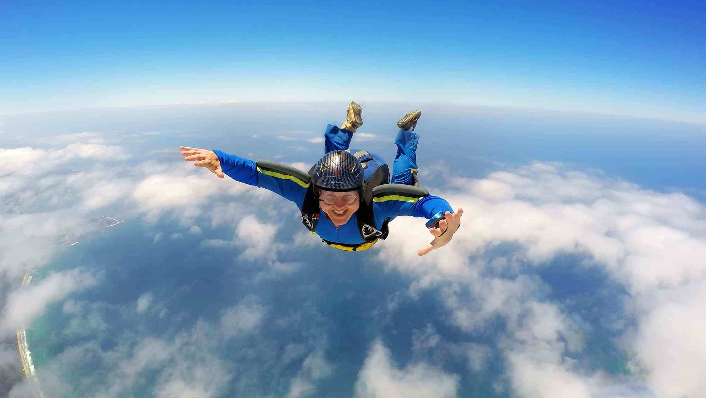 Daring Chinese Celebrities In Australia Skydiving World 2020 Norcal