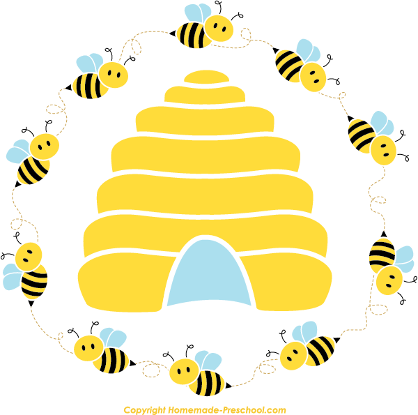 Pin by Peggy Martin on classroom ideas | Bee clipart, Cute ...