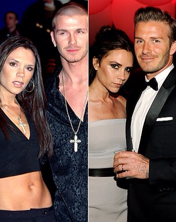 Before And After David Victoria Beckham