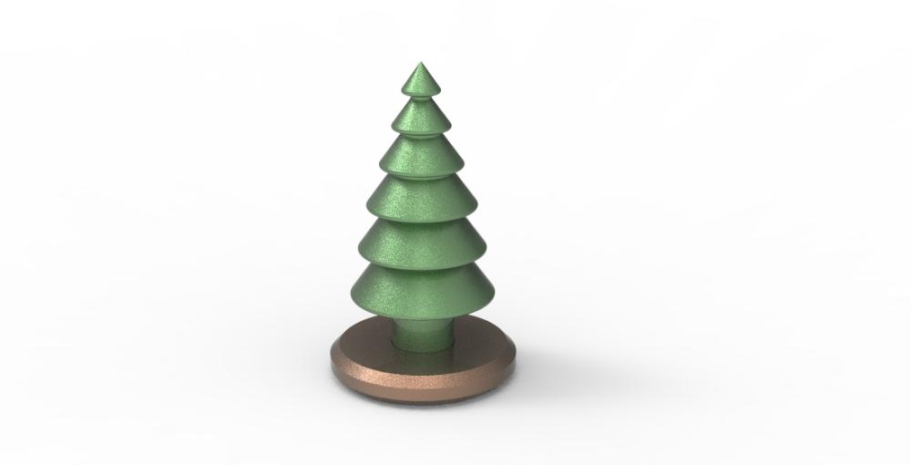 3d Print Handmade Type Christmas Tree 3dprintg Christmas Tree 3d Model Christmas Tree 3d Printing Projects