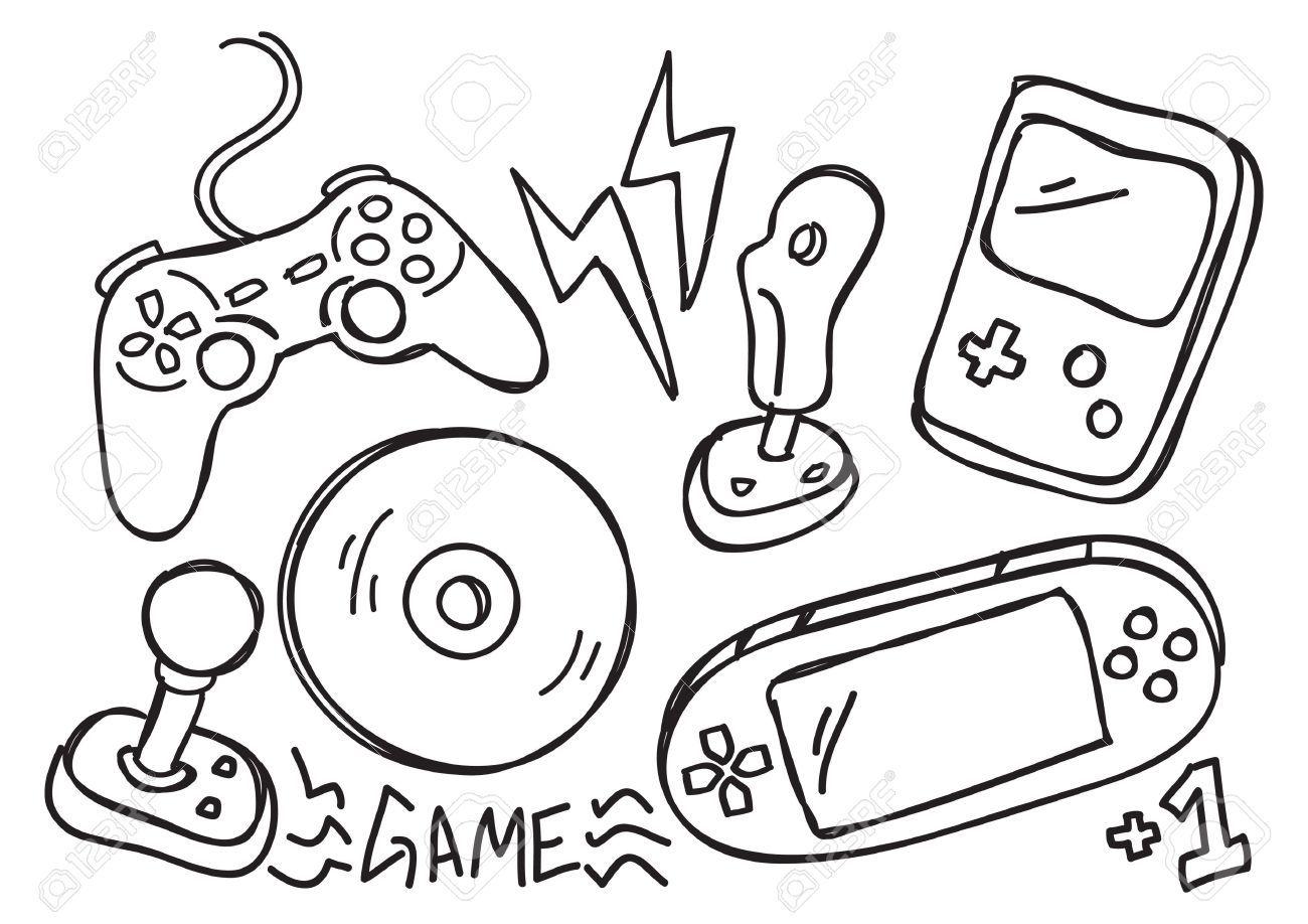 Meraklisina Oyun Konsollarinin Dunden Bugune 9 Maddeyle Bilinmeyen Yonleri Hand Drawing Video Doodles Games Doodles