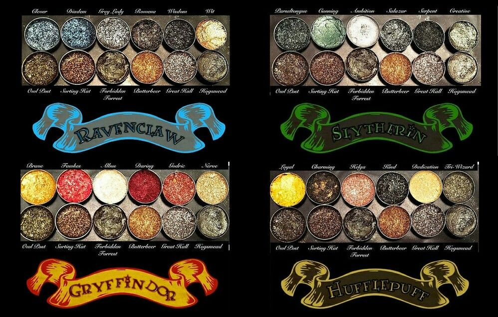 Harry Potter eye shadow palettes // theestorysofar ♡