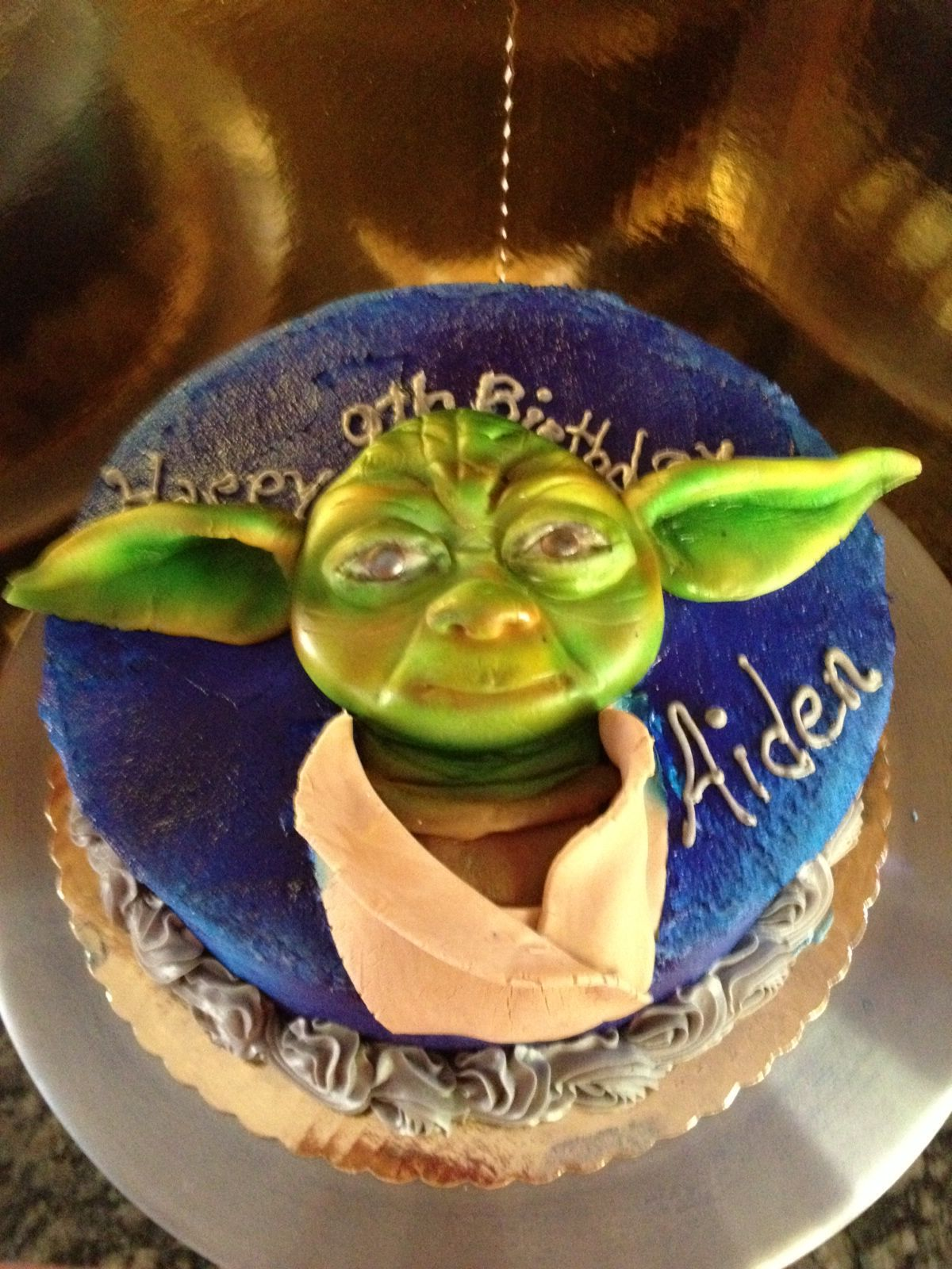Yoda Birthday Cake - Bittersweet Bake Shoppe - Tyngsboro , Massachusetts