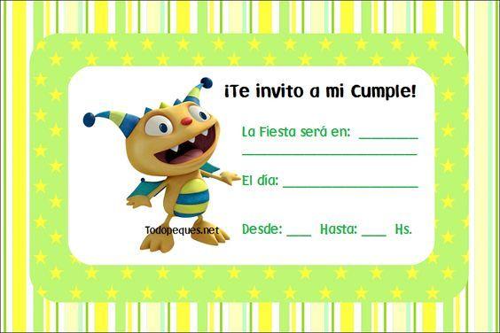 Henry invitacion