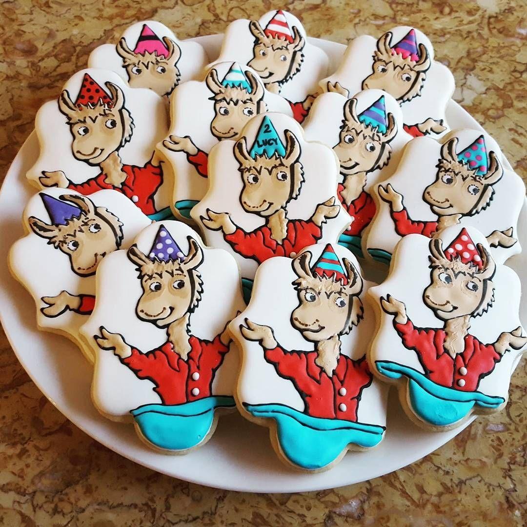 Llama Llama Red Pajamas Cookies Minniescookies Llama Llama Red