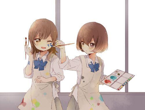 amigas en anime kawaii - Buscar con Google