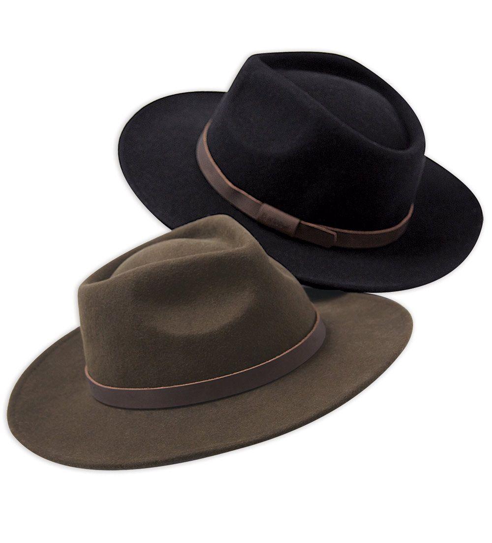 2c329331f9 Barbour Crushable Bushman Wool Felt Hat