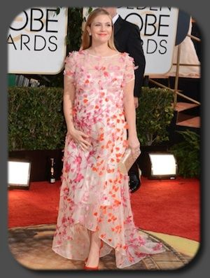 Drew Barrymore aux Golden Globes Awards 2014, en rideau de douche ...