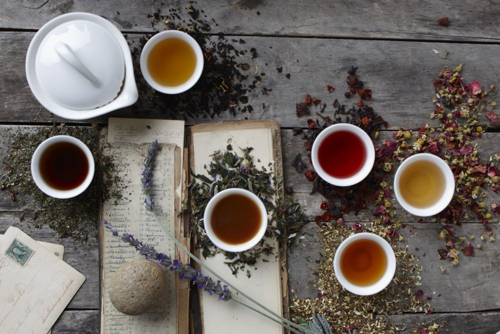These Ayurveda Wellness Teas tap the 5,000-year-old healing practice with handpicked botanicals, seeds, and berries for a health boost in every sip. @artoftea