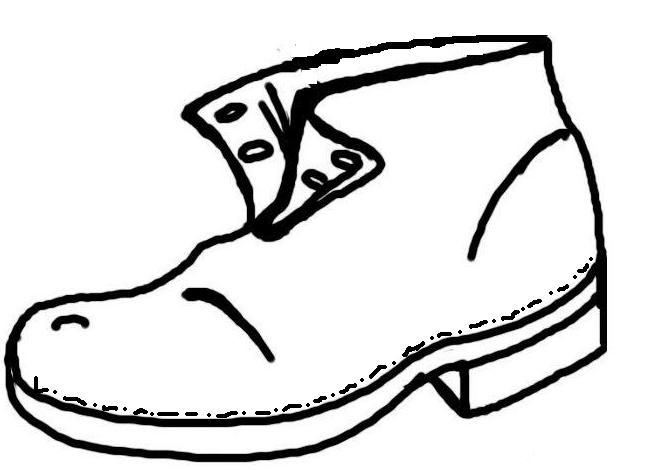 Resultado De Imagen Para Zapatos Rotos Para Colorear E Imprimir