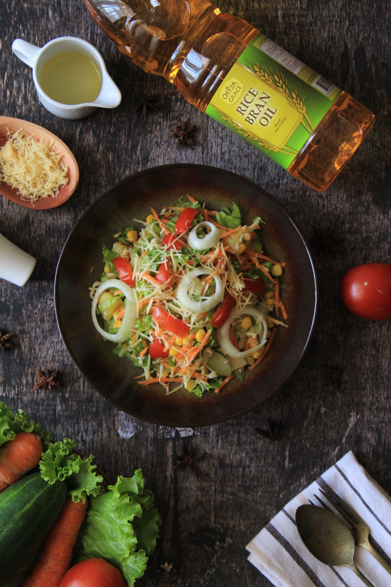 Salad Salad Photography Salad Dressing