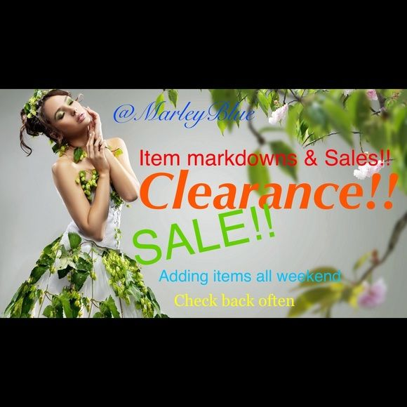 Items Markdowns!! Sale prices, price drops, and clearance items. Plus 15% off 2 or more items. Offers welcome!! Need to clear out my closet!! Please SHARE Accessories Hats