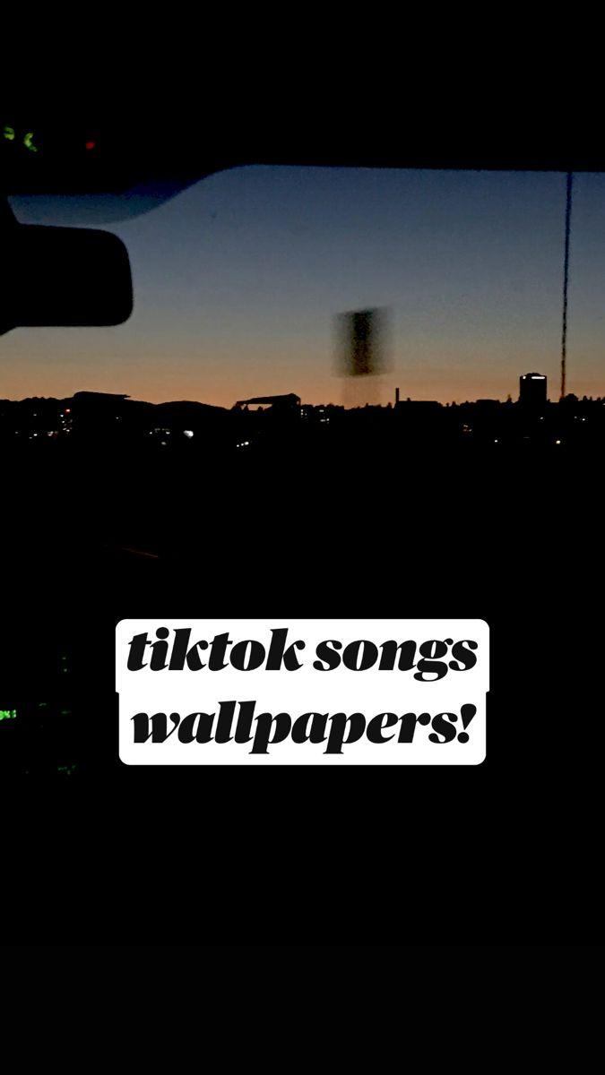 tiktok inspired wallpapers!