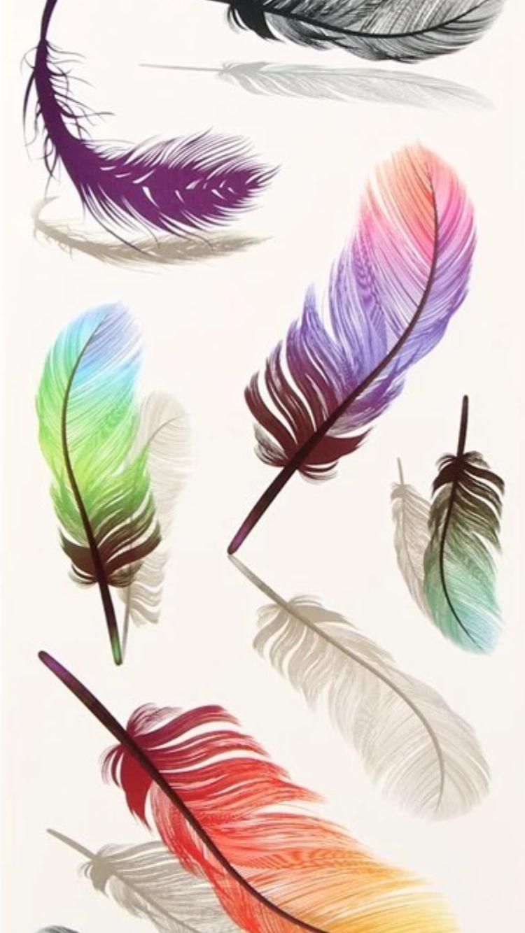 colorful temporary tattoos feathers tanner pinterest tatouage tatouage plume and dessin. Black Bedroom Furniture Sets. Home Design Ideas