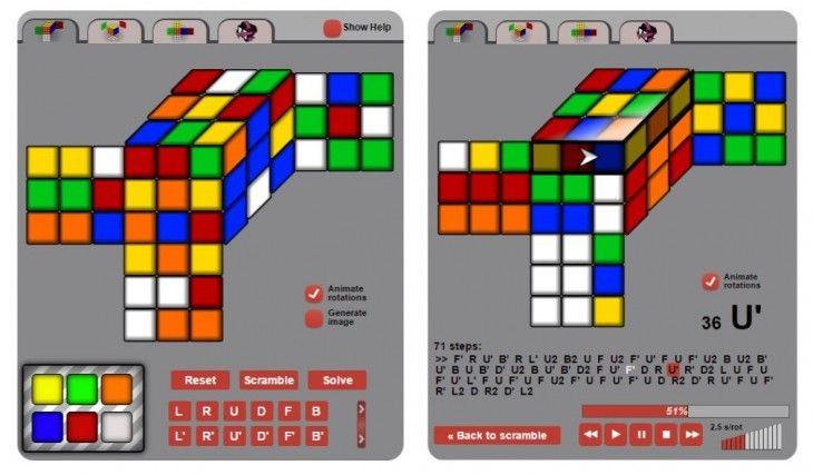 Cubo de Rubik Una app web nos ayuda a solucionarlo Cubo