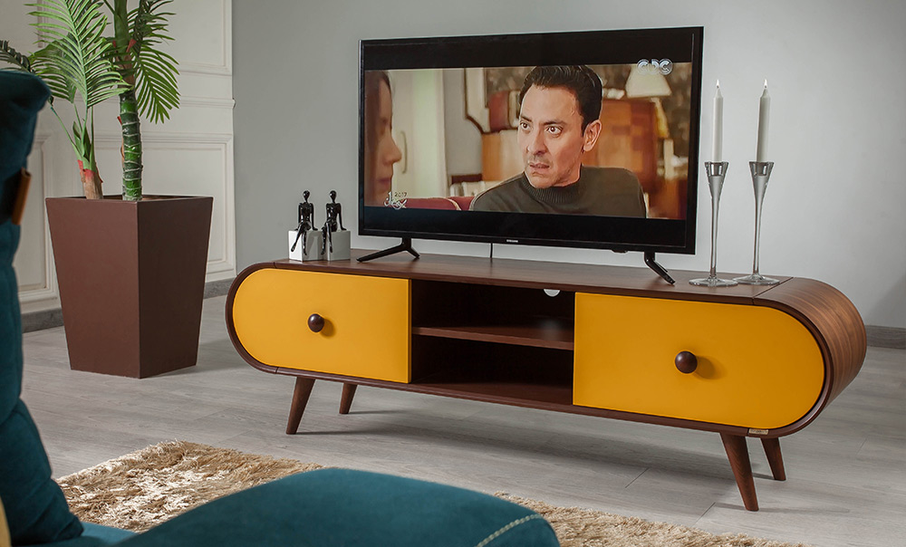 ترابيزة تليفزيون 701 Kabbani Furniture قبانى للأثاث Smart Furniture Space Saving Furniture Tv Unit
