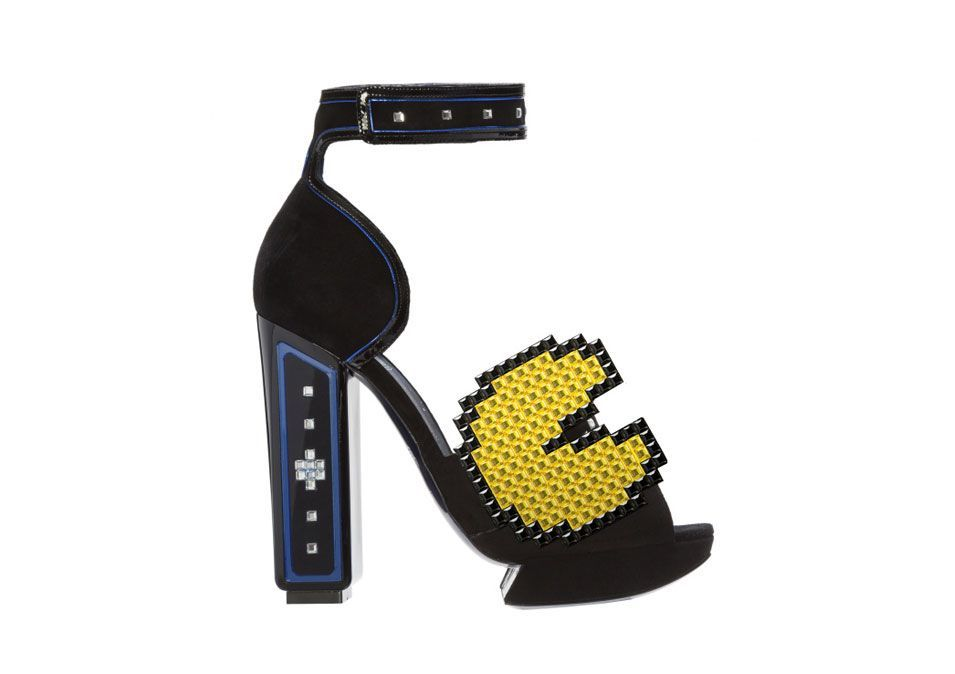 Nicholas Kirkwood Pac-man sandals inspired by the 80′s.