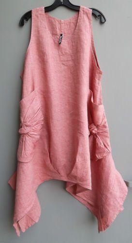 New Spring Tank Sale Dress to Kill Artsy Jane Mohr Lagenlook | eBay
