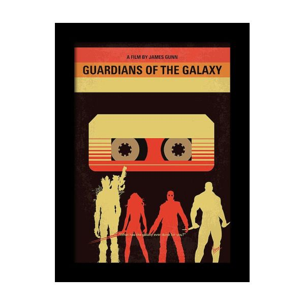 No812 My Guardians Of The Galaxy Minimal Movie Poster