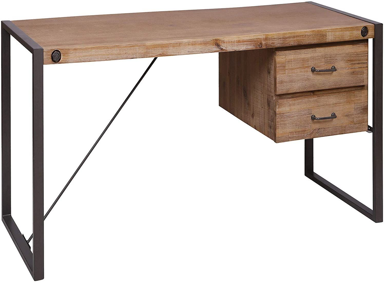 Farmhouse Desks Rustic Desks In 2020 Desk With Drawers Desk