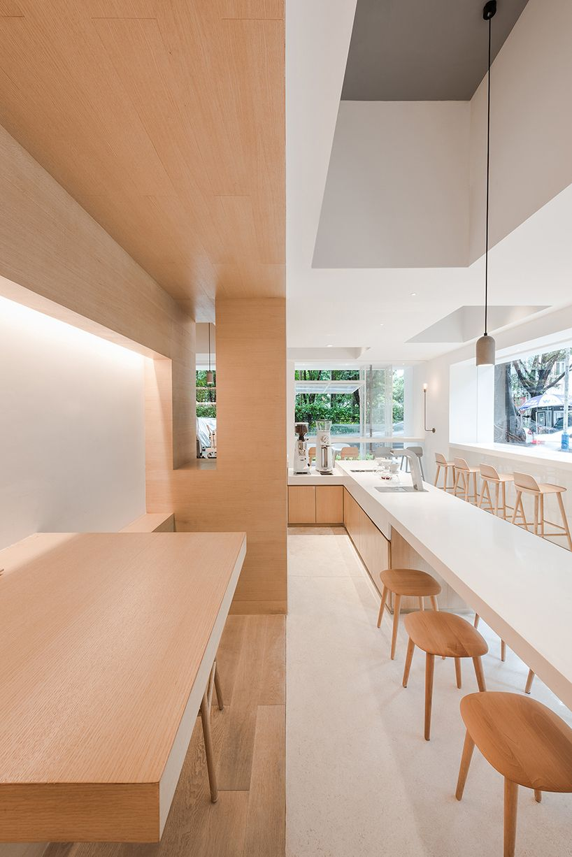 lukstudio creates a coworking space in a body of white boxes