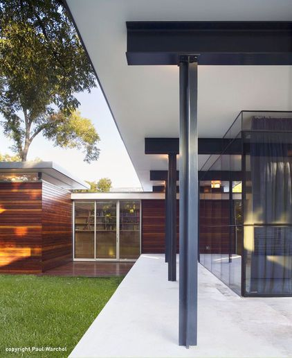 Modern Gray Exterior With Steel Beams: Modern Steel-steel And Steel-concrete Connections
