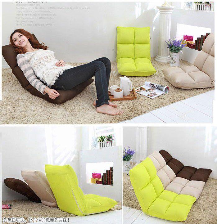 Memory Foam Floor Lounge Chair