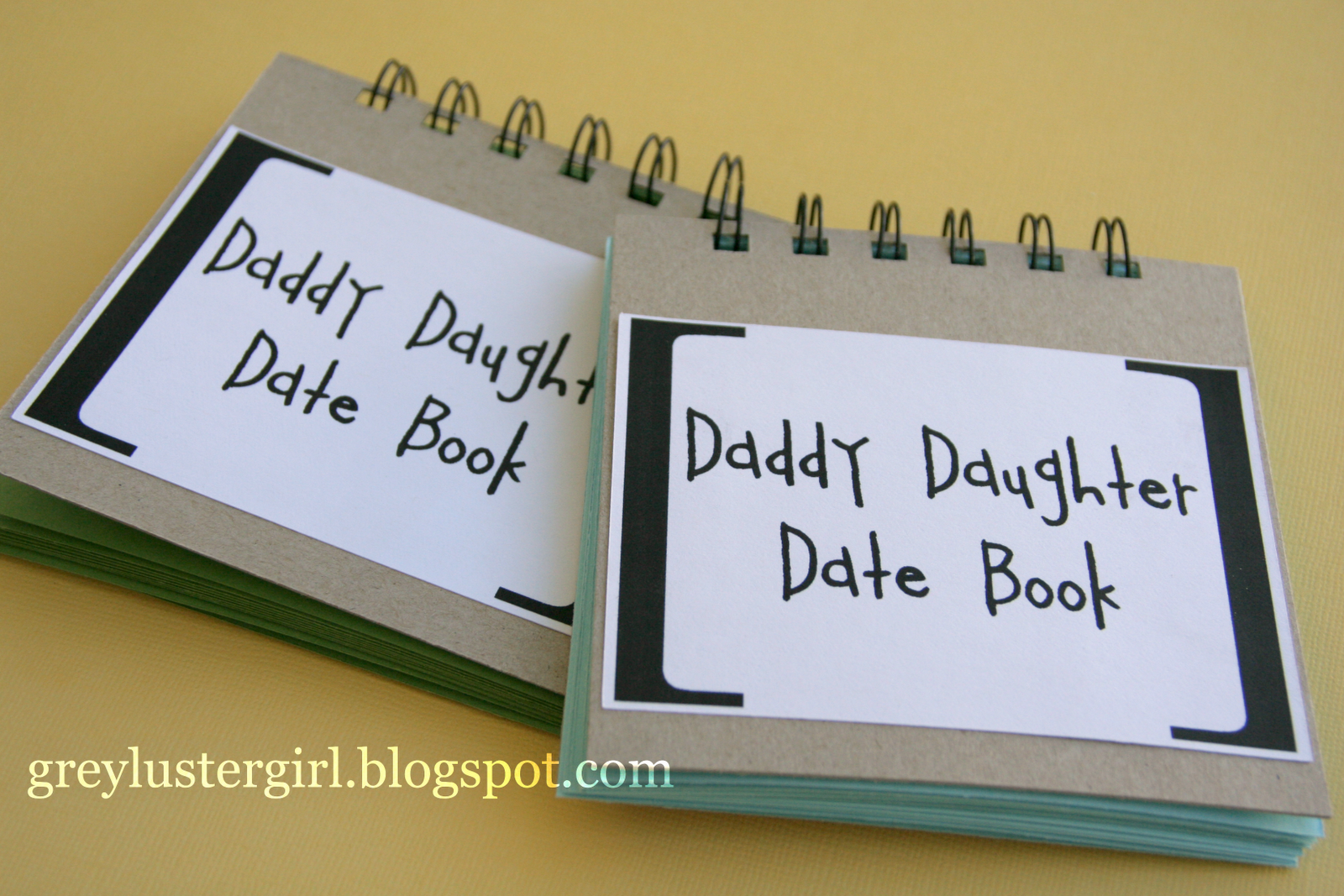 daddy daughter date book great fathers day gift a page