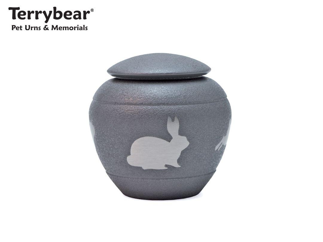 Terrybear Silhouette Rabbit Cremation Urn Pet Cremation Urns Pet Urns Cremation Urns