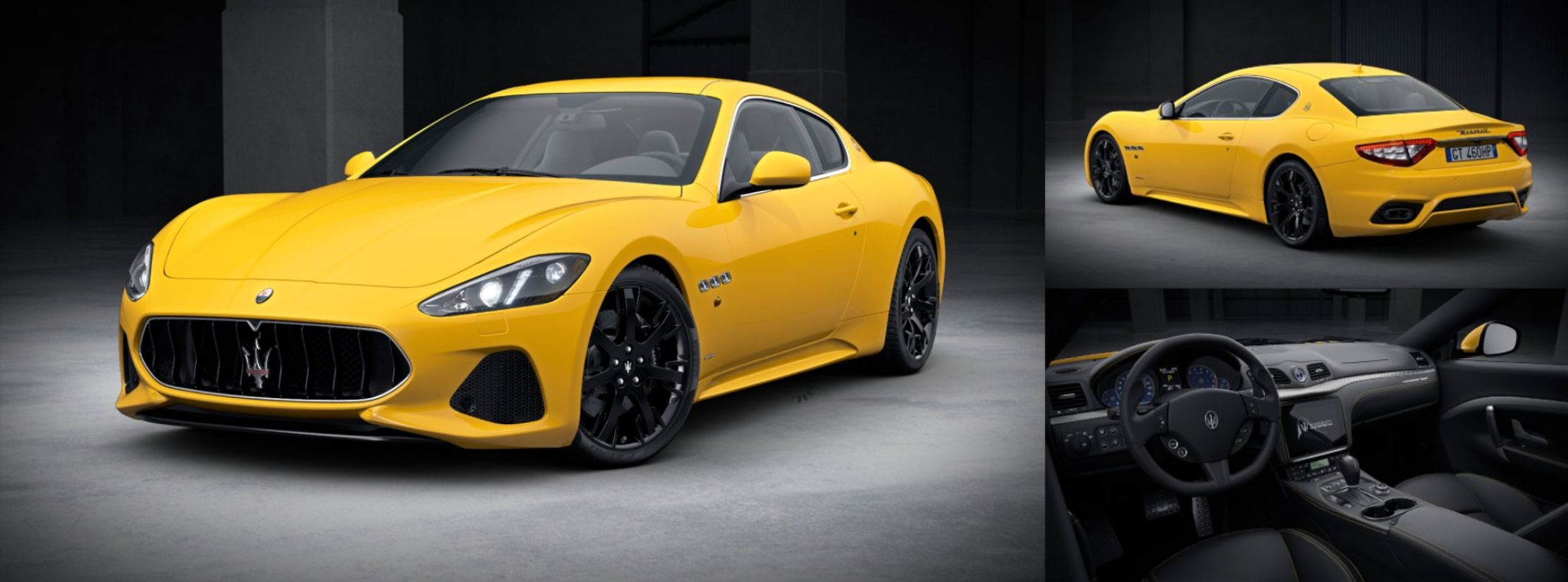 YES or NO, on the Yellow Maserati GranTurismo Sport? Want one? Call