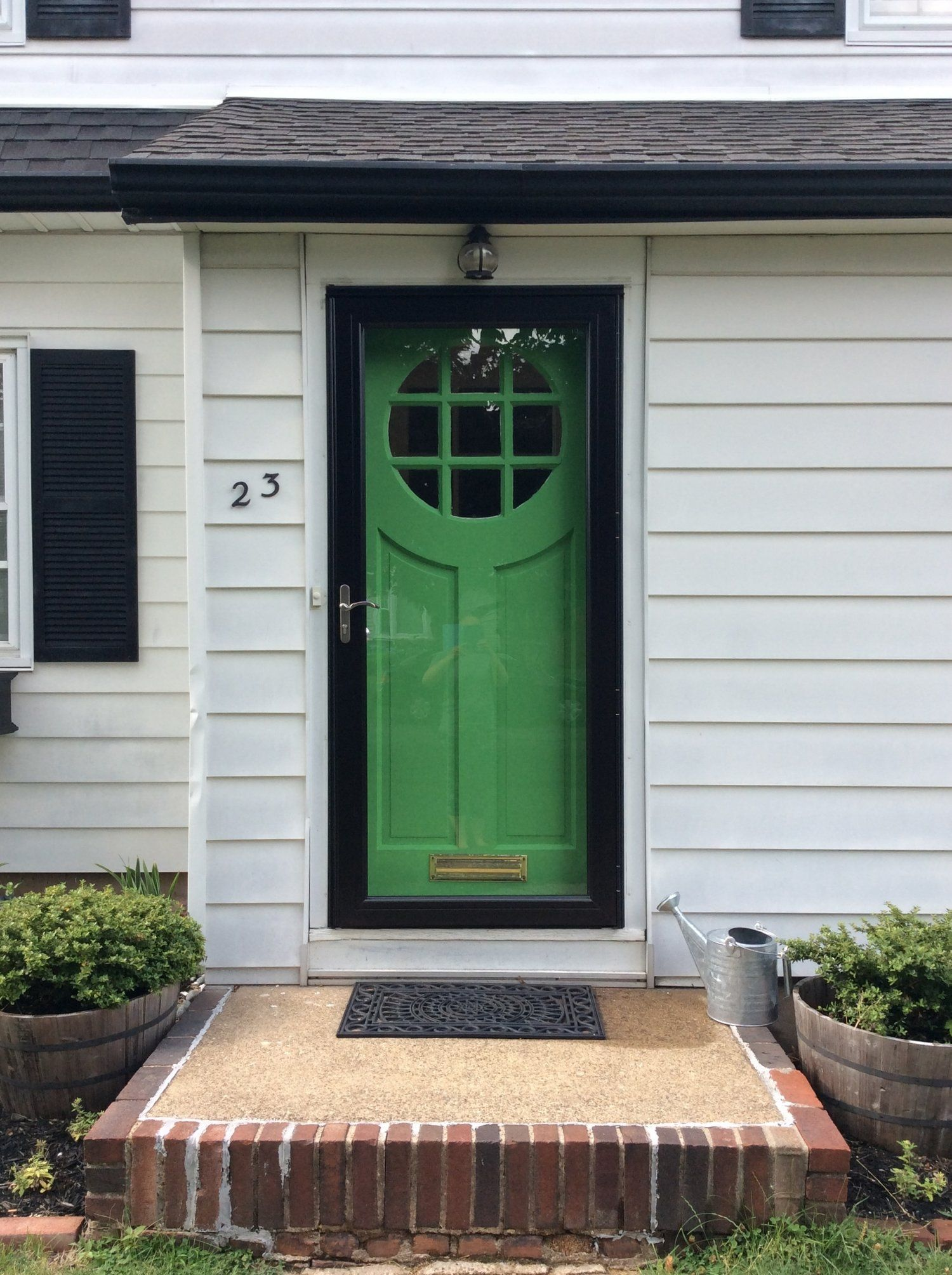 Our Suburban Fixer Upper brimming with rustic curb appeal and shabby