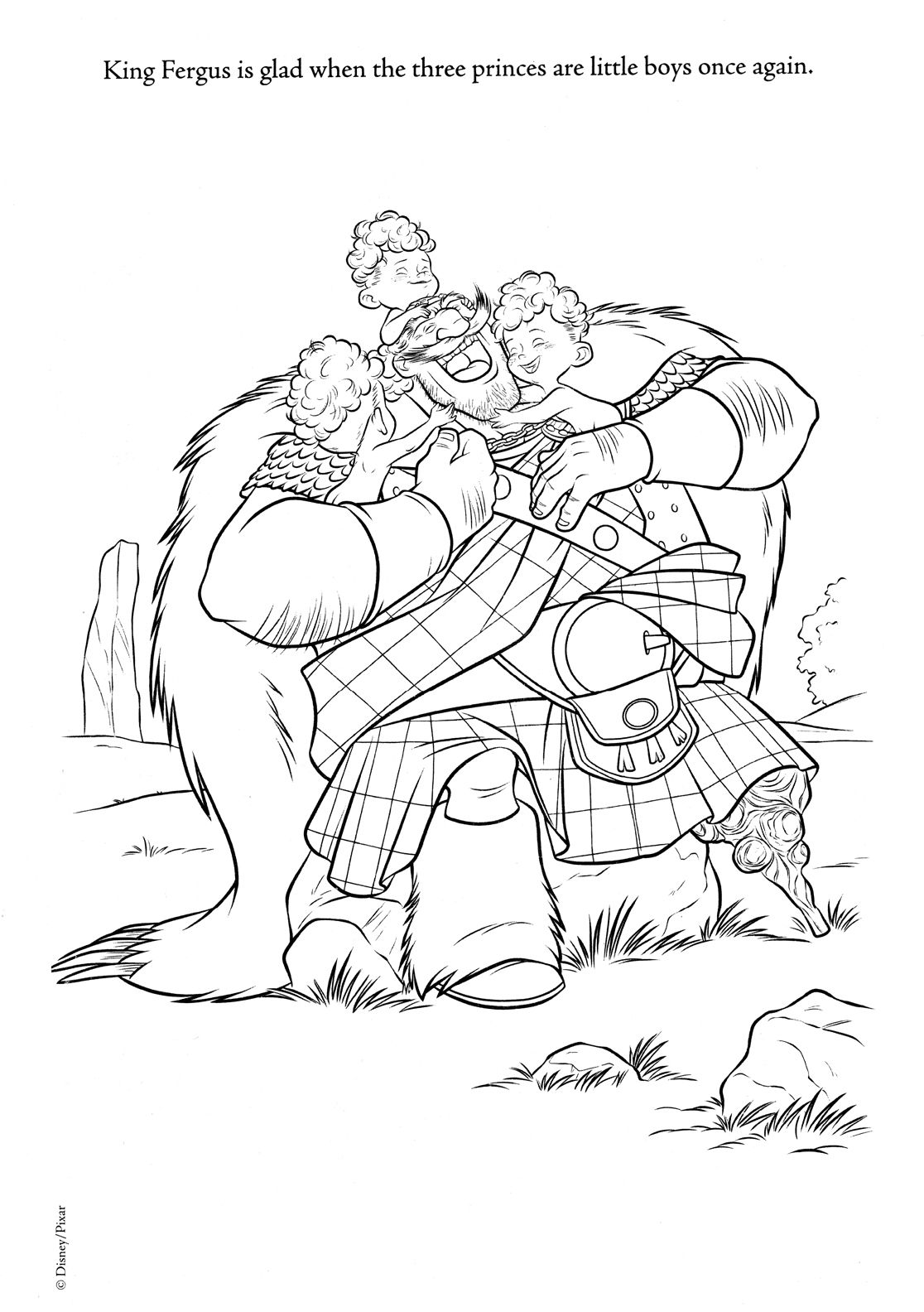 Coloring page from \