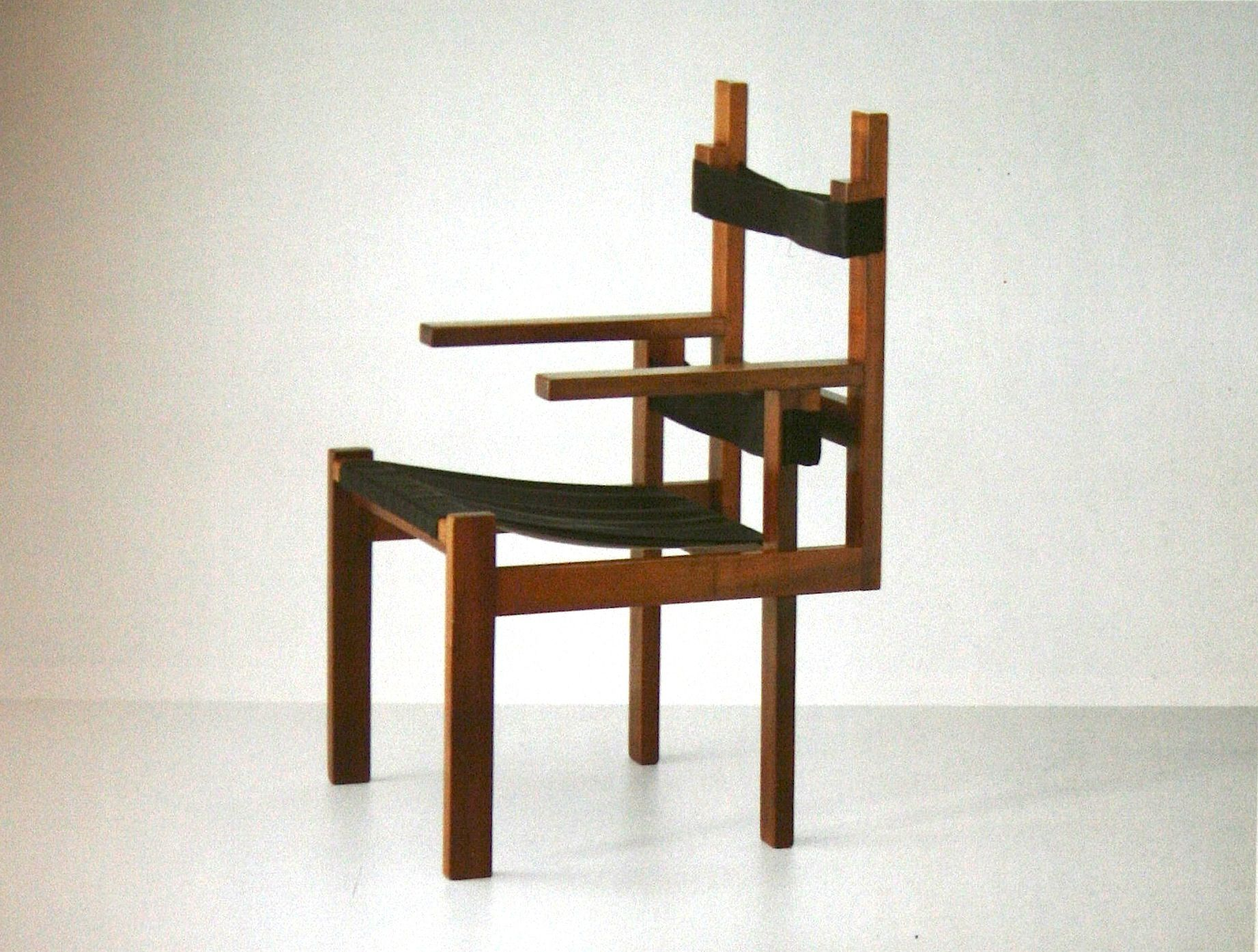 Marcel Breuer wood slat chair HISTORY OF INTERIORS