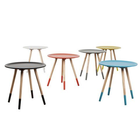 table basse pieds peints two tone zuiver | 2!, tables and two tones