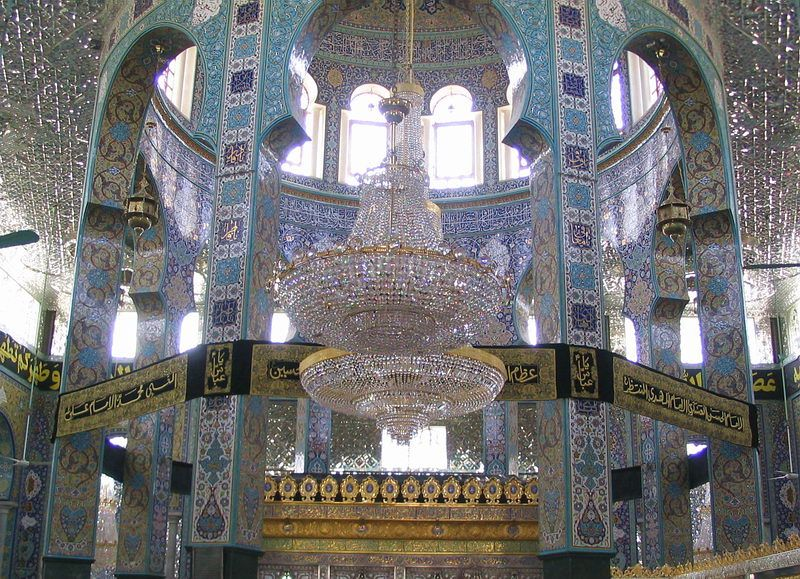 Inside the mosque of Sayyida Zeinab - Damascus, Dimashq