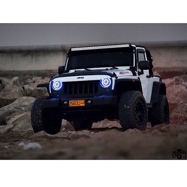 Be unique. www.headlightupgrade.com Thanks to @qusai22jeep for sending in the pic.