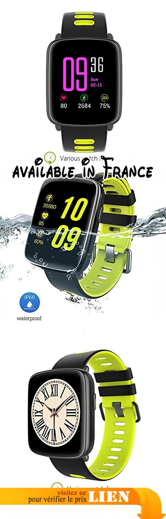 Smart Watch Durable Montre Sport,Moniteur de Sommeil