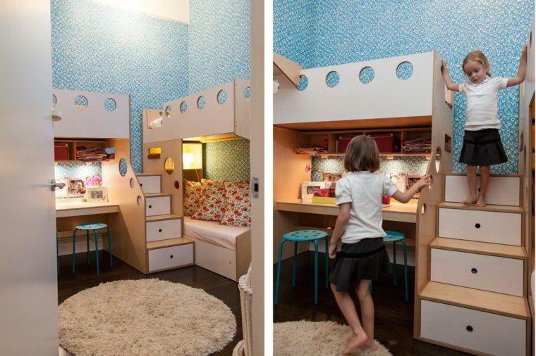 Idée déco chambre : la chambre enfant partagée | Chambre enfant ...