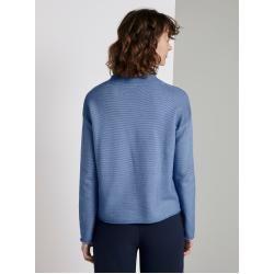 Photo of Tom Tailor Damen strukturierter Strickpullover, blau, Gr.xl Tom TailorTom Tailor
