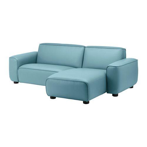 dagarn loveseat with chaise kimstad turquoise kimstad turquoise