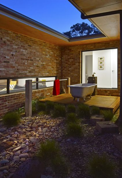 Farmhouse Bathroomhowden Homes  Outdoor Living  Pinterest Endearing Luxury Outdoor Bathrooms Review