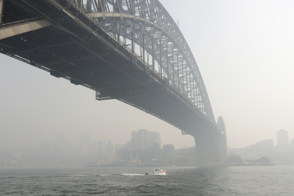 Sydney Smoke Air quality drops to 'dangerous' Peak in
