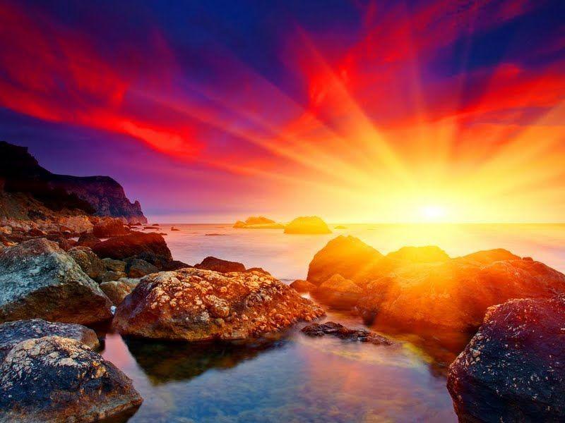 صور شروق الشمس احلي صور وخلفيات للشروق ميكساتك Sunset Sunset Sky Nature