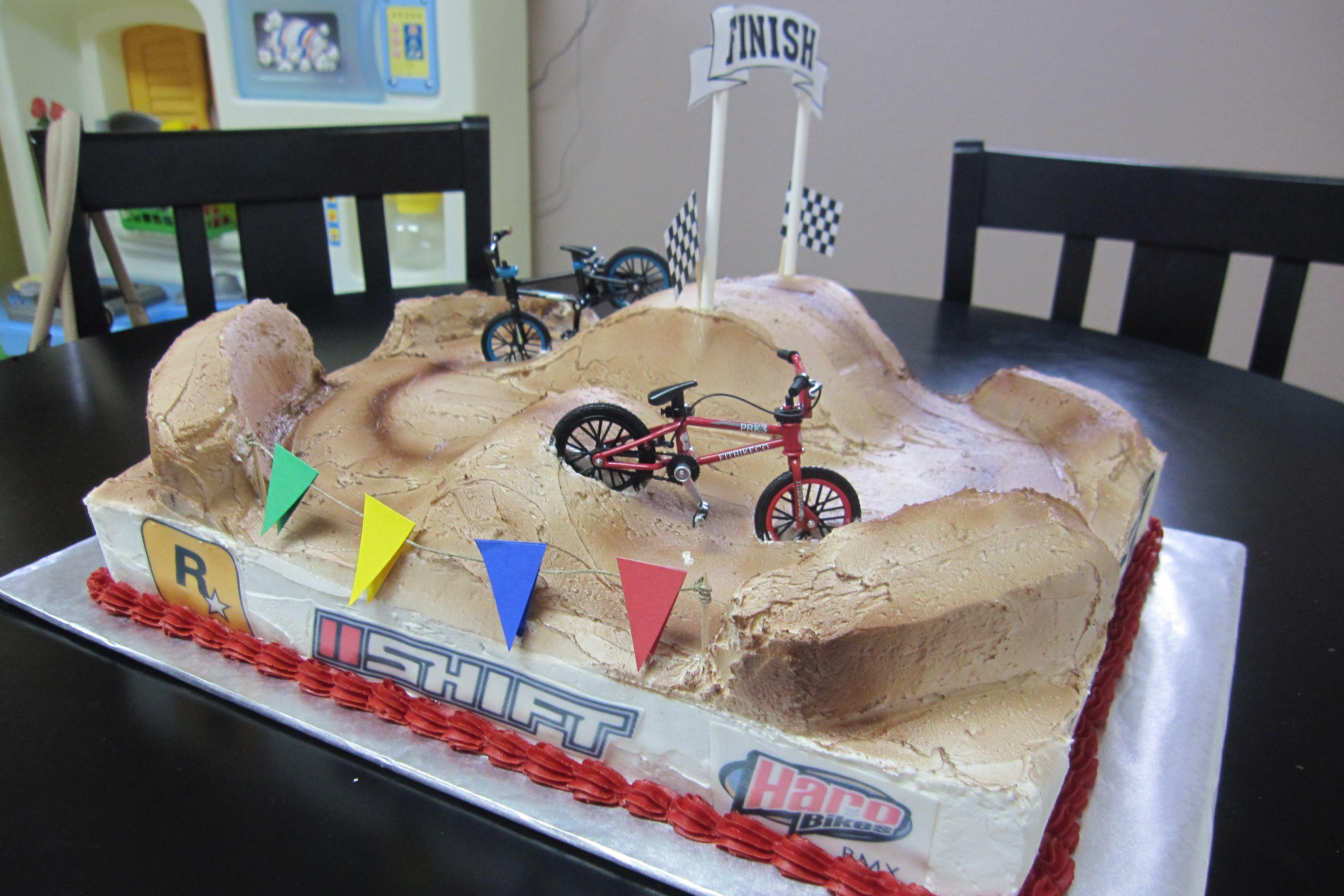 Bmx Cake Devon Bmx Cake Bike Cakes Bicycle Cake