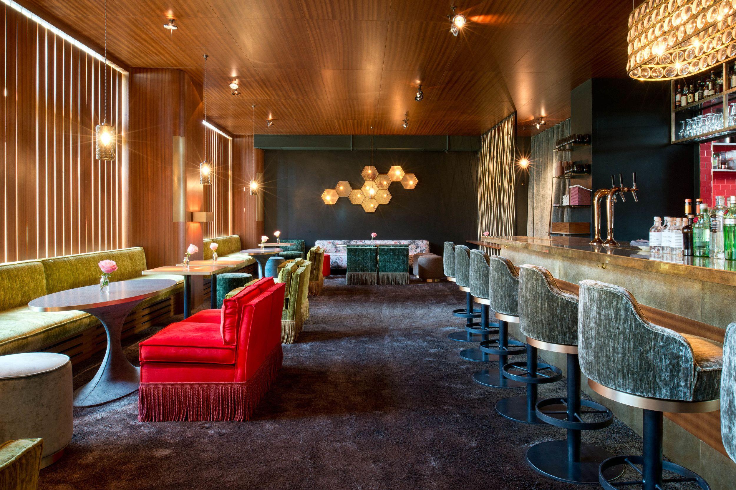 Theresa Bar in Munich- Seven Elohim design | Interior Design | Bar ...