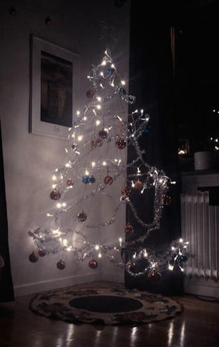 Y qu tal el fantasmag rico pero s per cool arbolito - Arbol de navidad sencillo ...