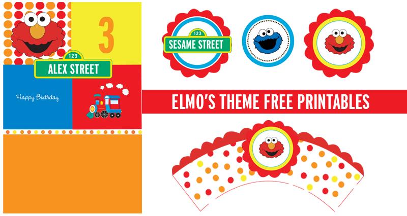 Elmo Party Free Printables Elmo Birthday Invitations Elmo Invitations Elmo Party
